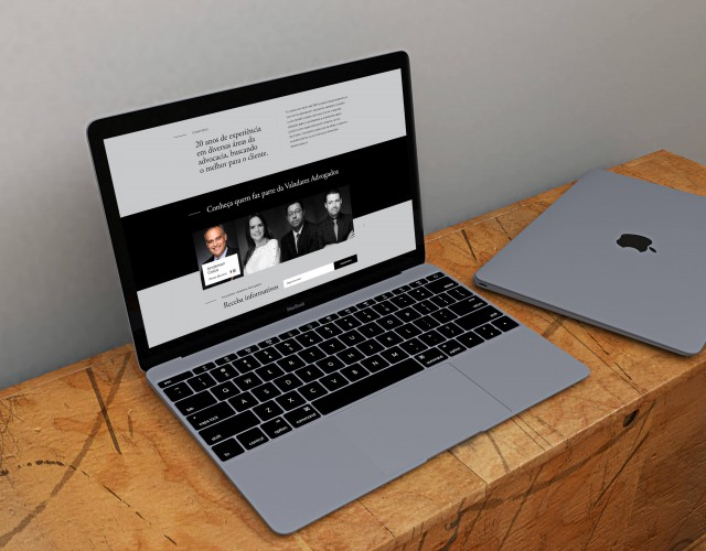 Free Realistic Space Grey Macbook Mockup - Anthony Boyd